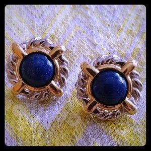 Jewelry - How to dress like a millionaire lapis earrings